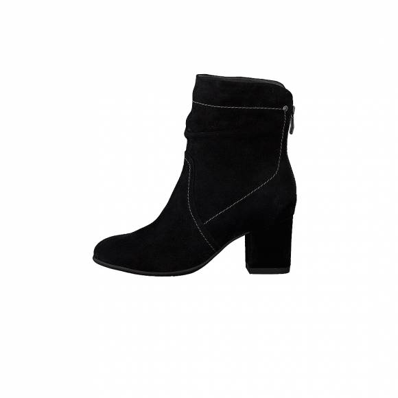 Be Natural 8 25316 21 001 Black Suede