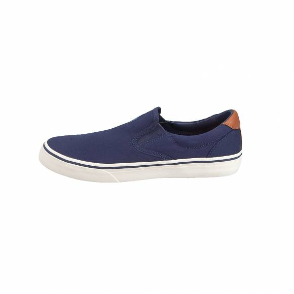 Ανδρικά Δερμάτινα Slippers Polo Ralph Lauren Thompson Ne Sk Vlc Navy 816713110004