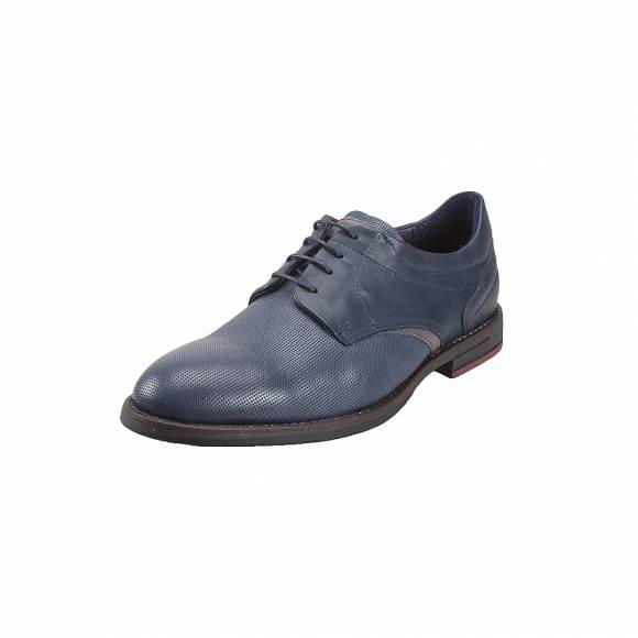 Ανδρικά παπούτσια Δερμάτινα Δετά Verraros 40 Navy