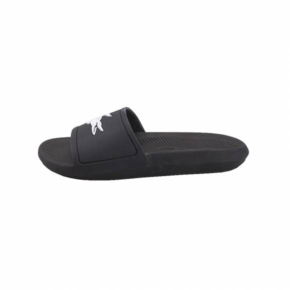 Lacoste Croco Slide 119 1 CMA Black White 7-37CAM0018312