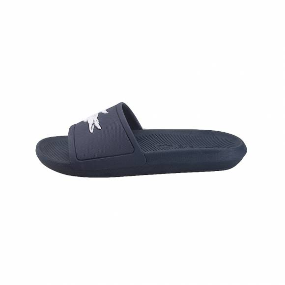 Lacoste Croco Slide 119 1 CMA Navy White 7-37CAM0018092