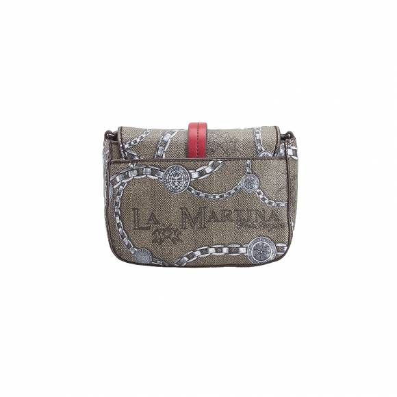 La Martina Shoulder Bag New Reconquistal 41W034 K0012 F1013 Chain multicoour
