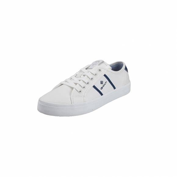Gant Zoee 18538445 canvas leather G315 White ivy blue