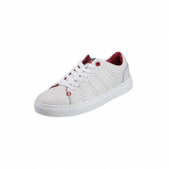 Ανδρικά Δερμάτινα Sneakers Levis Vernon Sportswear 229439 700 51 regular White