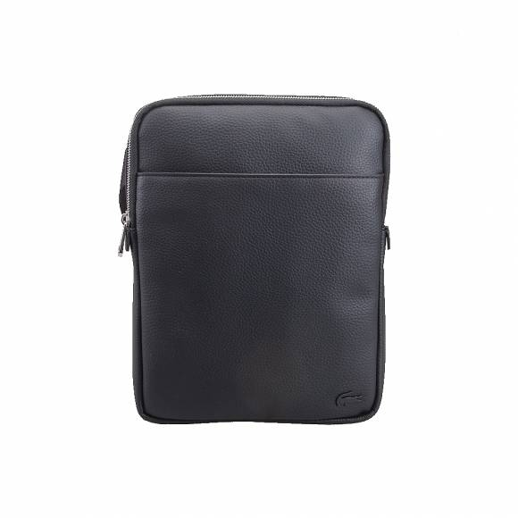 Ανδρικό Τσαντάκι Lacoste NH2840GL 000 Black M Flat Crossover Bag