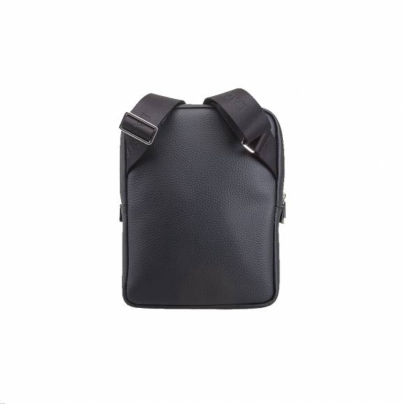 Ανδρικό Τσαντάκι Lacoste NL2839GL 000 Black S Flat Crossover Bag