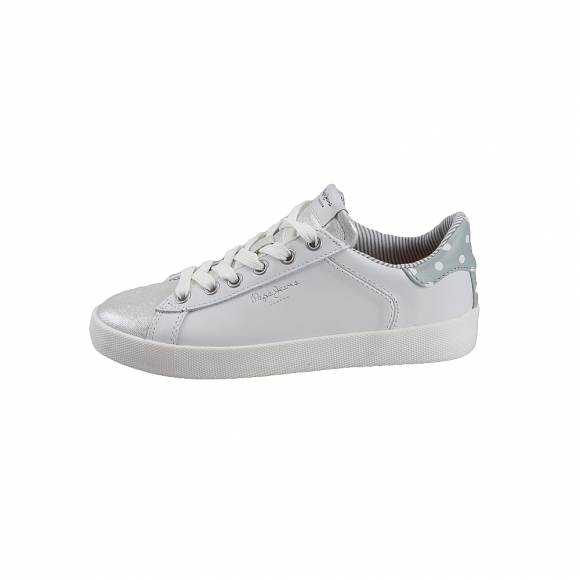 Γυναικεία Δερμάτινα Sneakers Pepe Jeans PLS30847 905 Kioto Dotty Grey