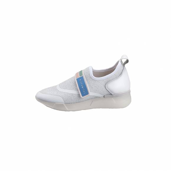 Γυναικεία Sneakers Hispanitas HV98726 Sock Metal V9 White Piso White