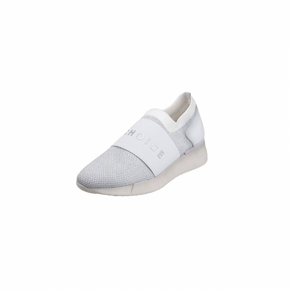 Γυναικεία Sneakers Hispanitas HV98870 Sock Metal V9 White Piso White