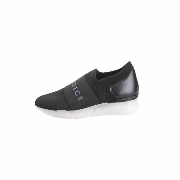Γυναικεία Sneakers Hispanitas HV98870 Sock Metal V9 Black Piso White