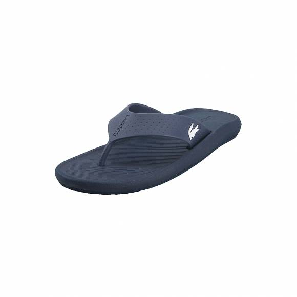 Ανδρικές Σαγιονάρες Lacoste Croco Sandal 219 1 CMA 7 37CAM0015092 Navy White Synthetic