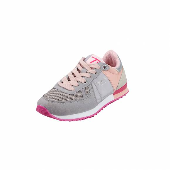 Παιδικά sneakers Pepe Jeans PGS30419 933 Syndey Basic Girl Grey