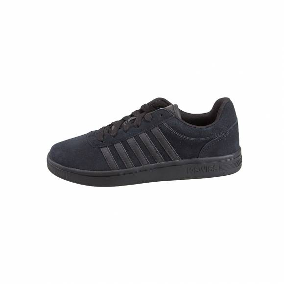 Ανδρικά Δερμάτινα Sneakers Kswiss 05676 001 M COURT CHESWICK SDE Black