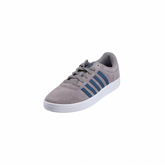 Ανδρικά Δερμάτινα Sneakers Kswiss 05676 058 M COURT CHESWICK SDE Stingray