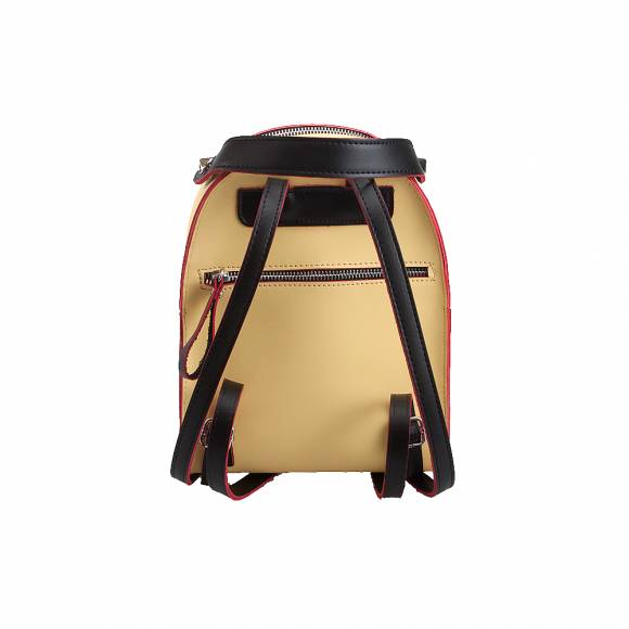 Γυναικεία Backpack Eco Leather Pierro Accessories 90551Ec20 Yellow