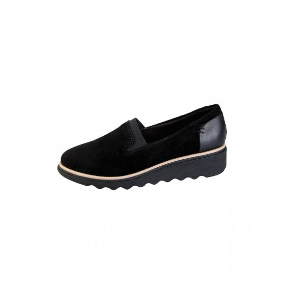 Clarks Sharon Dolly 26136359 Black Suede