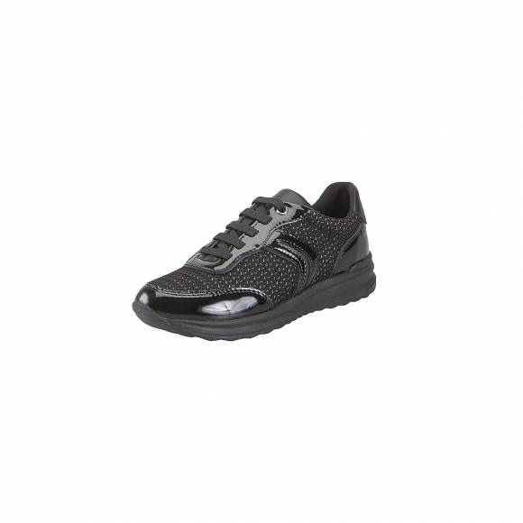 Geox D842SA 0AS66 C9999 Airell A Shi tex pat Leather Black