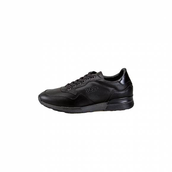 Boss Shoes K2019LTH Black Leather