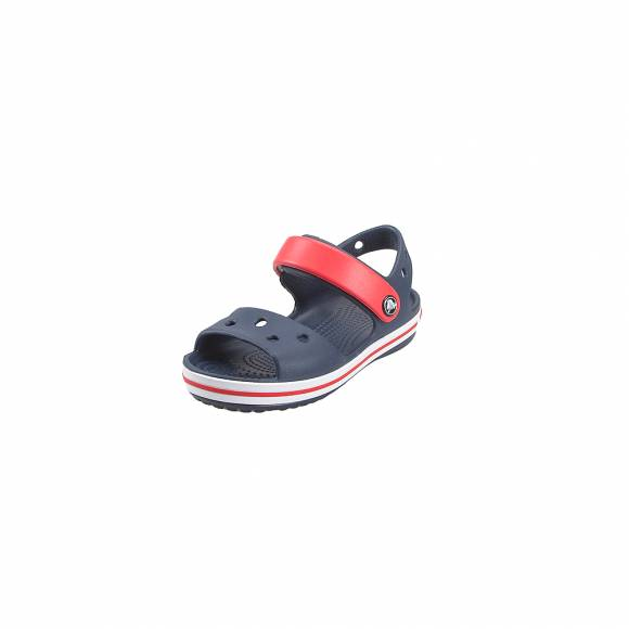 Παιδικά Σανδάλια CROCS CROCBAND SANDAL KIDS NAVY RED RELAXED FIT 12856-485