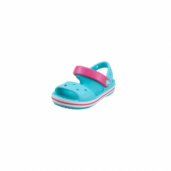 Παιδικά Σανδάλια CROCS CROCBAND SANDAL KIDS POOL CANDY PINK RELAXED FIT 12856-4FV