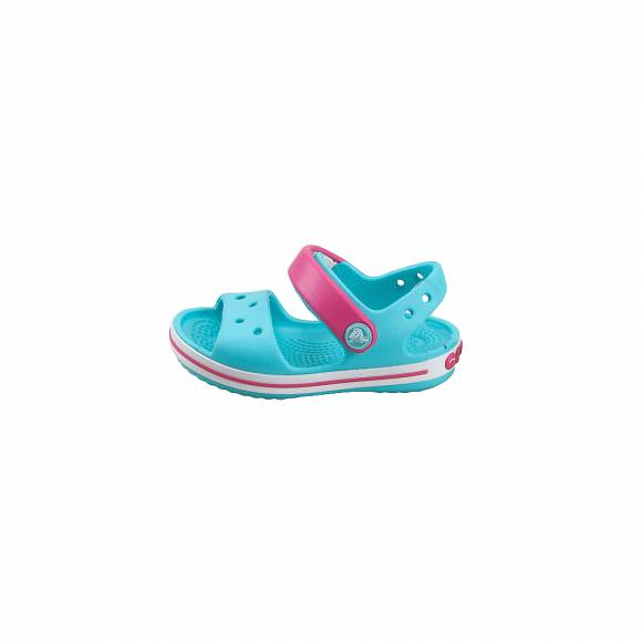 f90de8c2d2d ... Παιδικά Σανδάλια CROCS CROCBAND SANDAL KIDS POOL CANDY PINK RELAXED FIT  12856-4FV