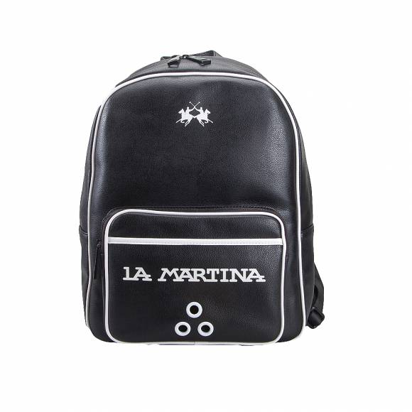 Ανδρικό Backpack La Martina Backpack Martin  41M185 N0026 09999 Black
