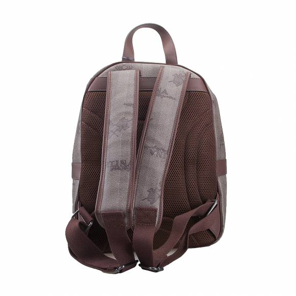 Ανδρικό Backpack La Martina Man Backpack Fernado 41M0005 N0017 F4162 Incense Bison Horse