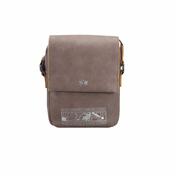 Ανδρικό τσαντάκι ώμου La Martina Cross over bag ignacio 41M131 N0019 04015 Sand