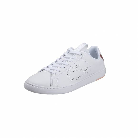 Lacoste Carnaby Evo Light WT 1193 SFA WHT LT PNK leather