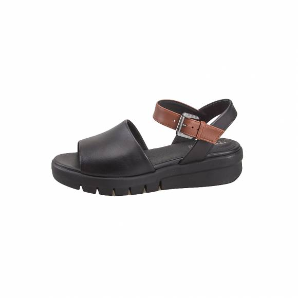Geox D92DPA 00043 C0111 Wimbley Sandal smo leather Black Brown