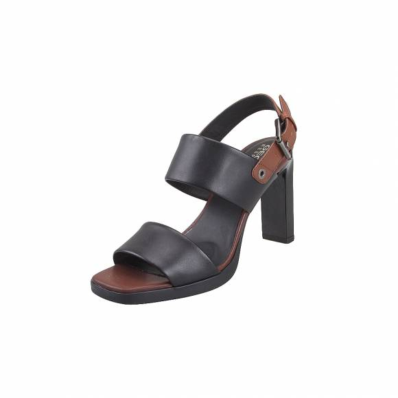 Geox D92CDA 00043 C0111 Jenieve smo leather Black Brown sandals