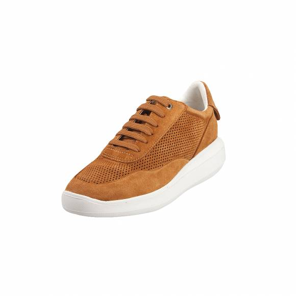 Geox D84APA 00022 C2021 Rubidia suede Curry sneakers