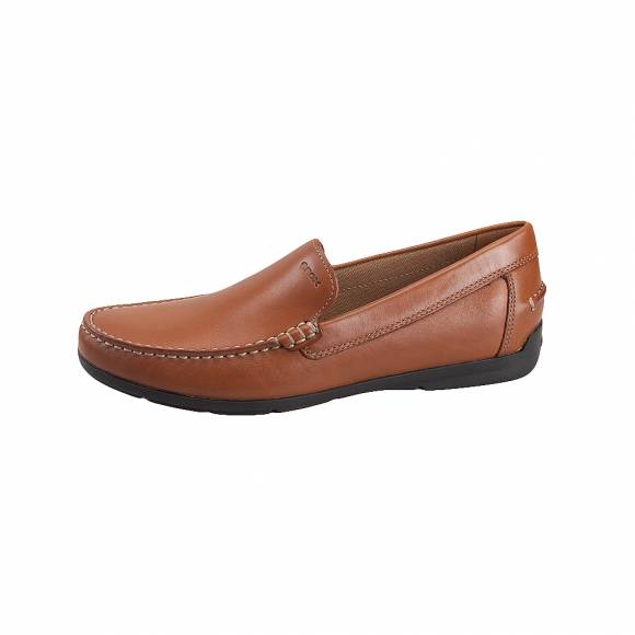 Geox U32Q3A 00043 C6001 Siron smo leather Cognac mocassins
