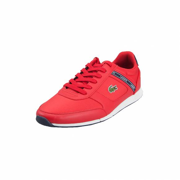 Lacoste Menerva sport 119 2 CMA RED NVY Textile Synthetic 7-37CMA0064RS7