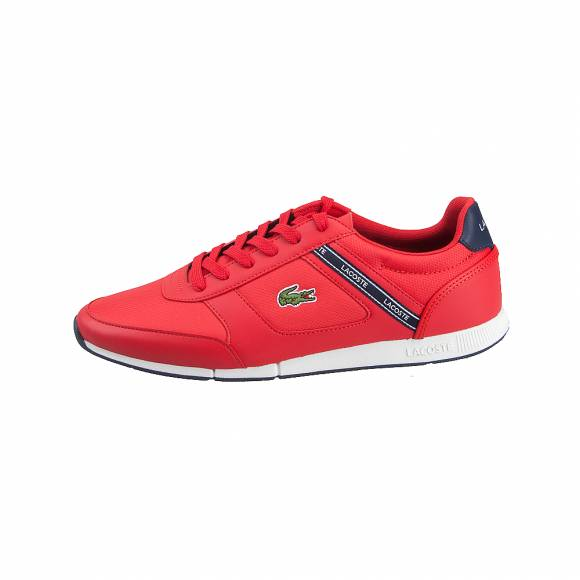Ανδρικά Sneakers Lacoste Menerva sport 119 2 CMA RED NVY Textile Synthetic 7-37CMA0064RS7