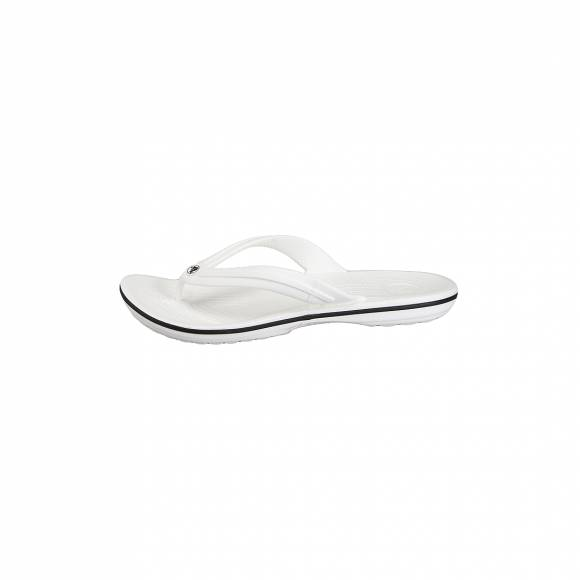 CROCS 11033 100 CROCBAND FLIP WHITE RELAXED FIT