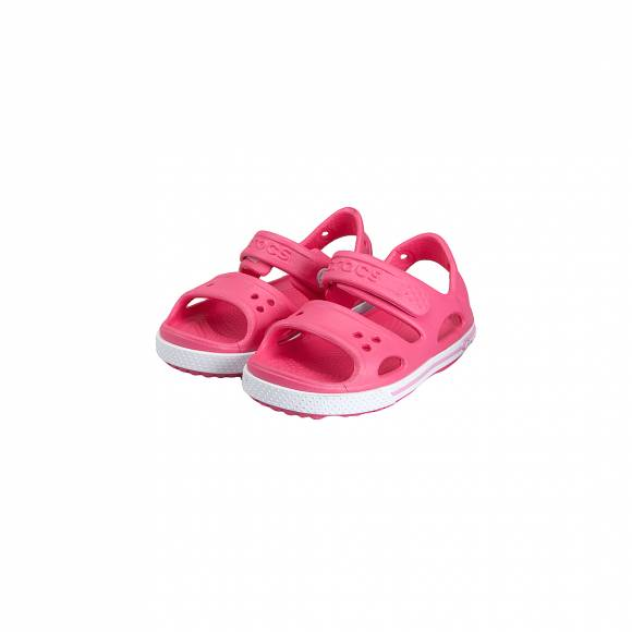 CROCS 14854 66I CROCBAND II SANDAL PS PARADISE PINK CARNATION RELAXED FIT