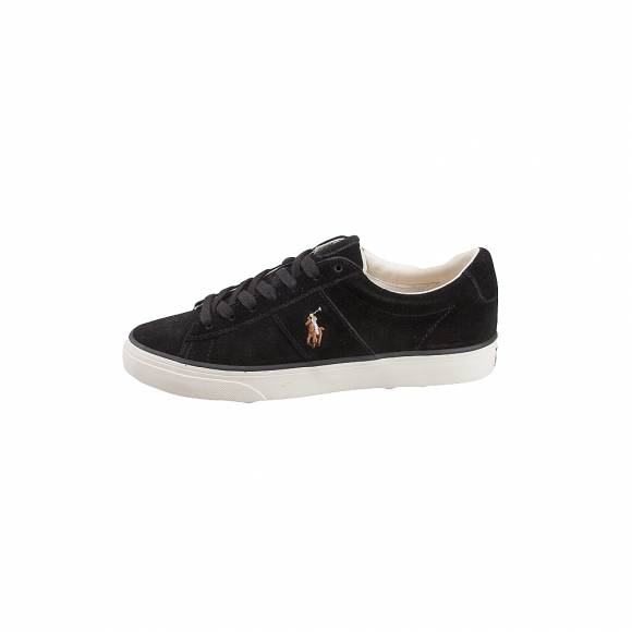 Ανδρικά Δερμάτινα Sneakers Polo Ralph Lauren 816764246003 Sayer sk vlc Black suede