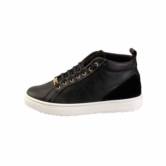 Toutounis 3895 Black Leather Suede