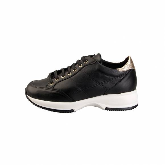 Toutounis 3696 Black Gold Leather