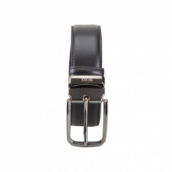 BOSS SHOES 45634 1 BLACK LEATHER