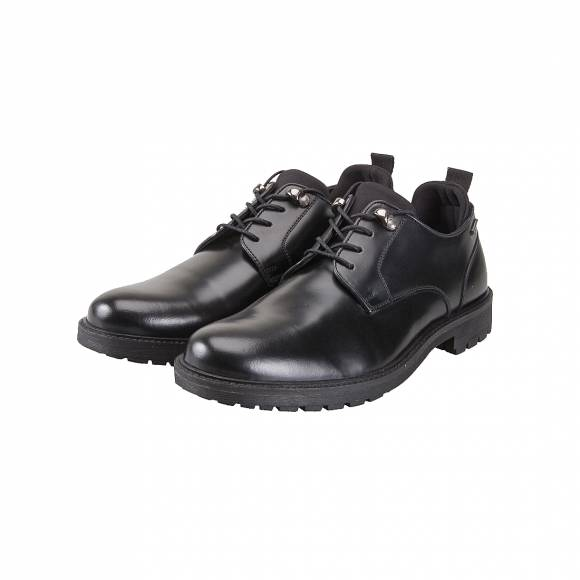 Ανδρικά Δερμάτινα Oxford Pepe Jeans PMS10245 NEW PRIME SMOOTH 999 BLACK