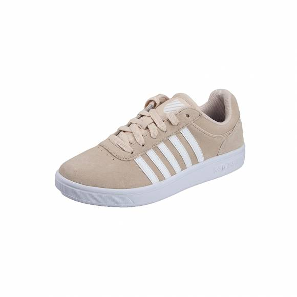 K Swiss 887292414 44 99 Court Cheswick 95676 271 M sde Bleached Sand white