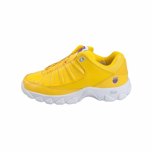 Γυναικεία Δερμάτινα Sneakers K Swiss 887292417 36 99 St529 Hertiage Women s low 96045 738 M Cyber Yellow White