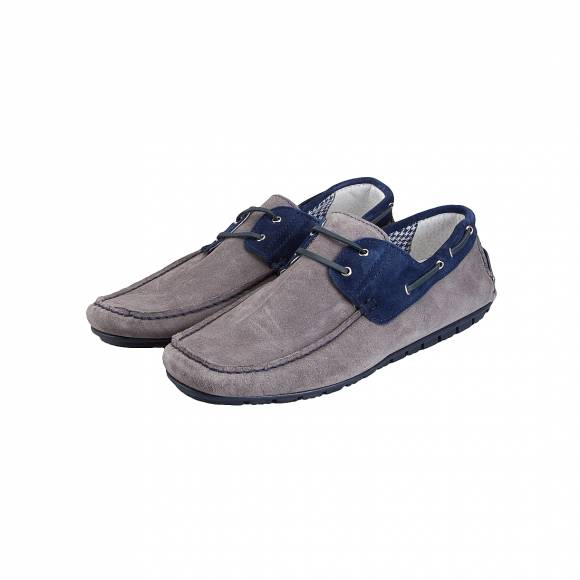 VERRAROS UOMO VELA IT GREY NAVY