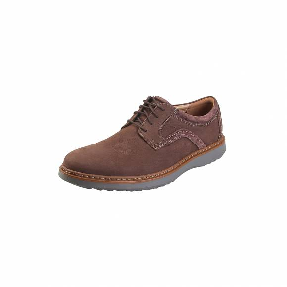 Clarks Un Geo Lace 26136759 Dark Brown Nubuck