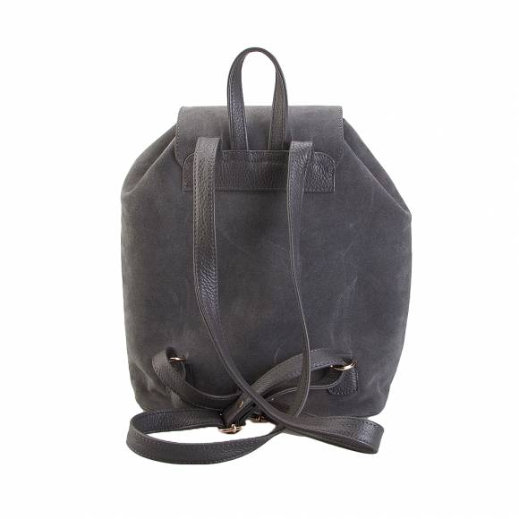 Four Knot 1030018 Grey Suede Backpack