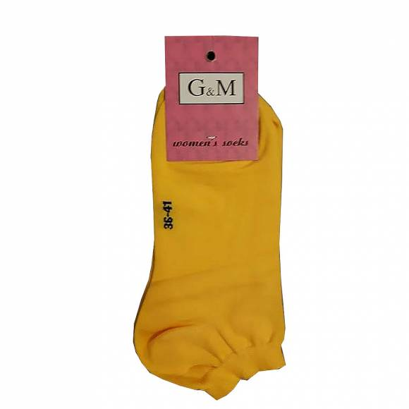 G & M SOCKS 464 YELLOW