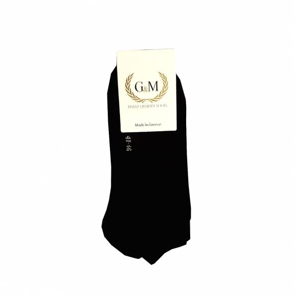 G & M SOCKS 461 BLACK