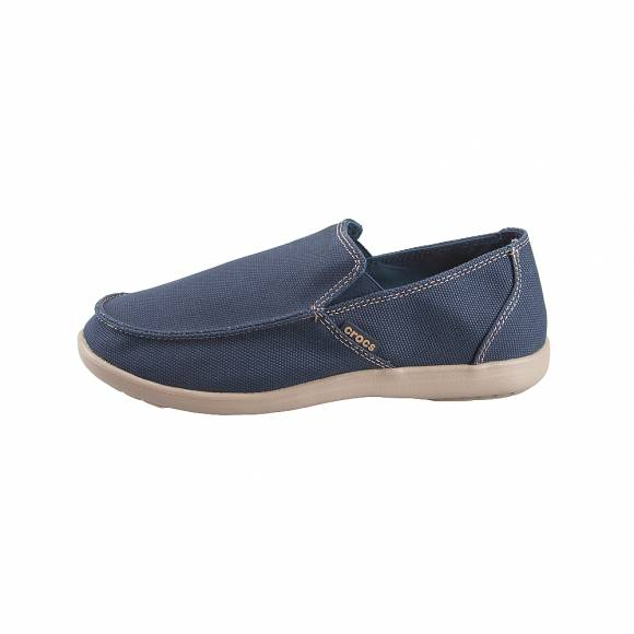 Ανδρικά Slippers Crocs Santa Cruz 202972 4BM Clean Cut Loafer Navy Tumbleweed